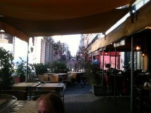 Restaurant in Mercado Del Puerto.