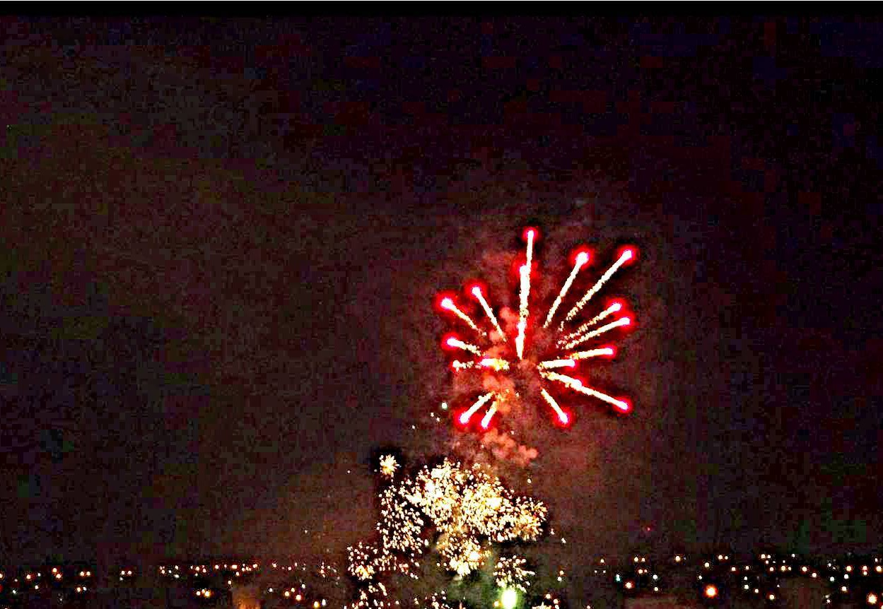 Fireworks: Christmas and New Years in Uruguay