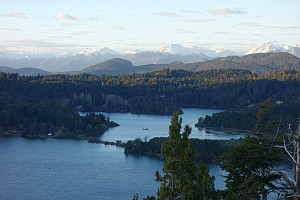 hills overlooking Bariloche and LLoaLLoa