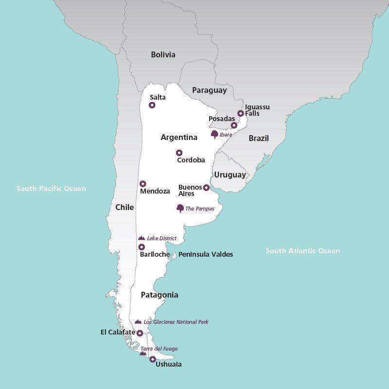 Salta Argentina South America Drive - Argentina map salta